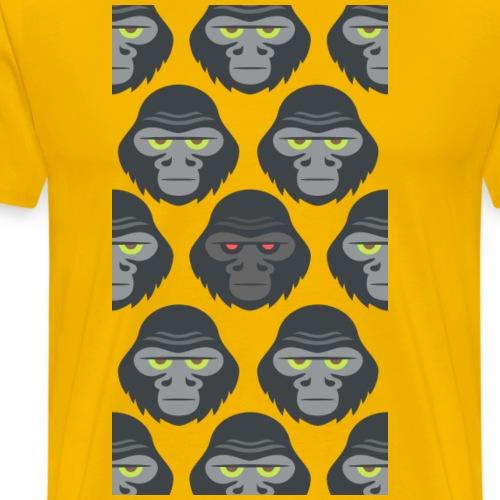 Gorilla - Camiseta premium hombre