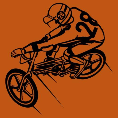 BMX Fahrrad / Bike 01_schwarz - Männer Premium T-Shirt