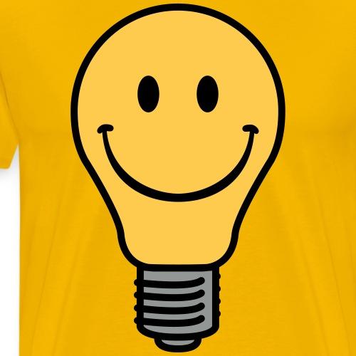 Oldschool lightbulb - Men's Premium T-Shirt