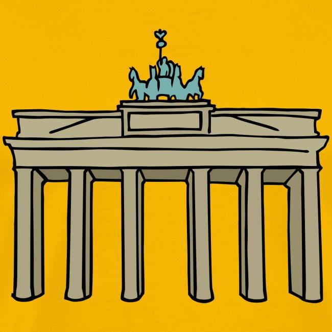 Brama Brandenburska BERLIN c