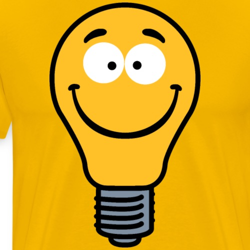 Wacky Lightbulb - Men's Premium T-Shirt