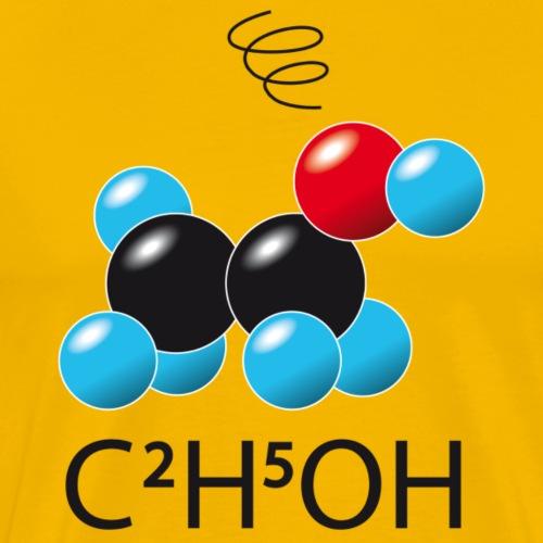 c2h5oh (sur Tshirts clairs) - T-shirt Premium Homme