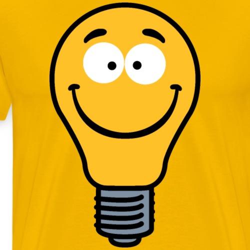 Wacky Lightbulb - Men's Premium T-Shirt