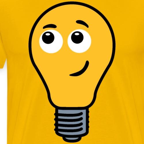 Shy Lightbulb - Men's Premium T-Shirt