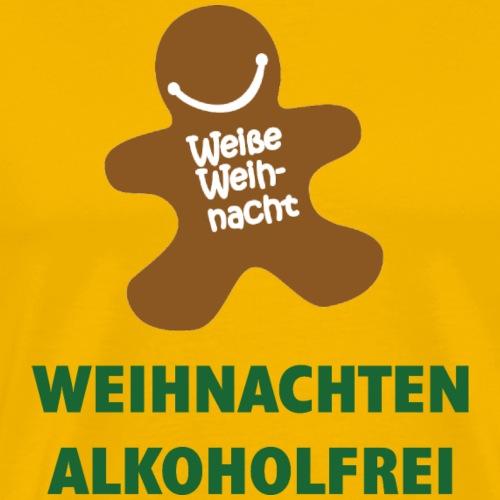 Weihnachten alkoholfrei - Männer Premium T-Shirt