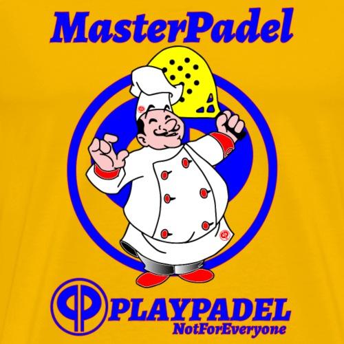 PLAYPADEL MasterPadelBlu - Maglietta Premium da uomo