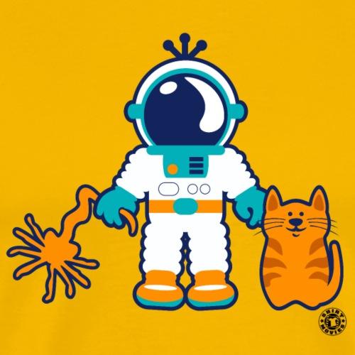 aliencrew - Männer Premium T-Shirt