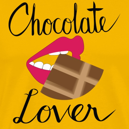 Chocolate Lover - Men's Premium T-Shirt