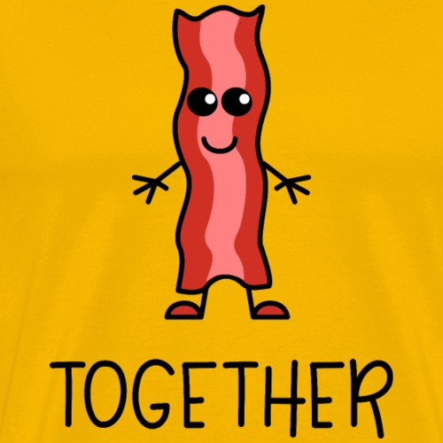 Better Together Partnerlook (Part2) Speck - Männer Premium T-Shirt