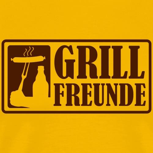 Grillfreunde - Männer Premium T-Shirt