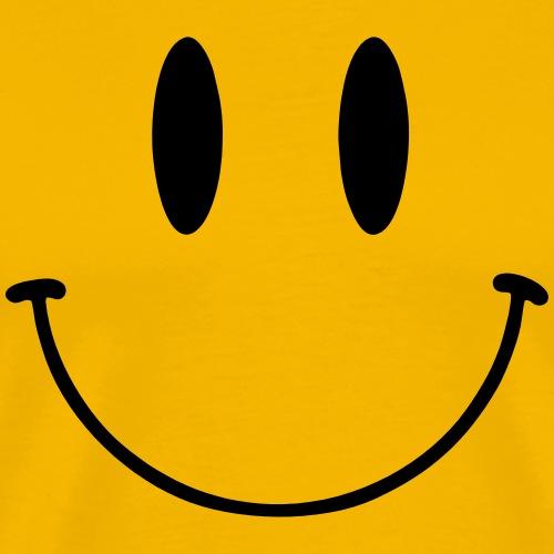 Happy Smile - Premium-T-shirt herr