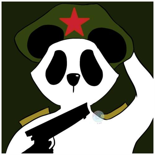Panda Militaire - T-shirt Premium Homme