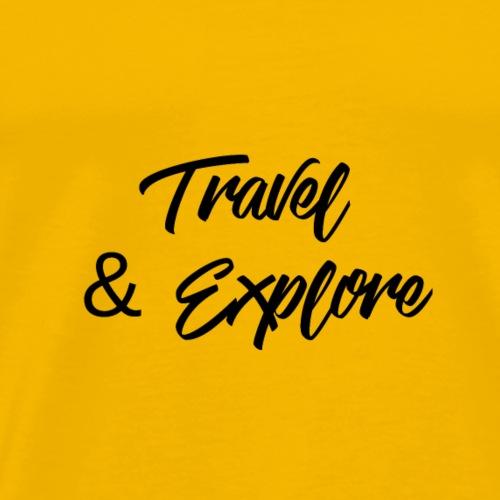travel & Explore - T-shirt Premium Homme
