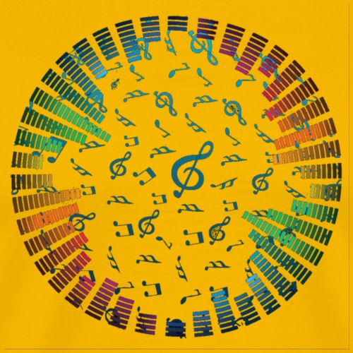 FreeVector Music Notes Vector Background
