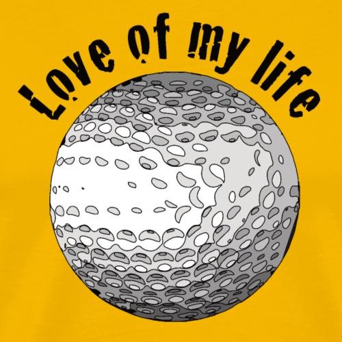 golflove1 - Männer Premium T-Shirt