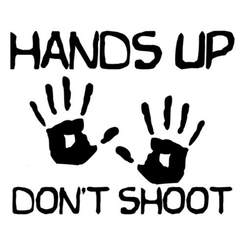 Hands Up Don't Shoot (Black Lives Matter) - Mannen Premium T-shirt