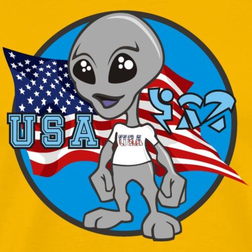 Benny- USA - Men's Premium T-Shirt