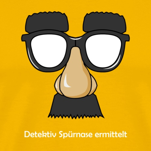 Detektiv Spürnase Ermittler #1 - Männer Premium T-Shirt