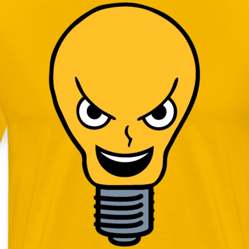 Evil Lightbulb - Men's Premium T-Shirt