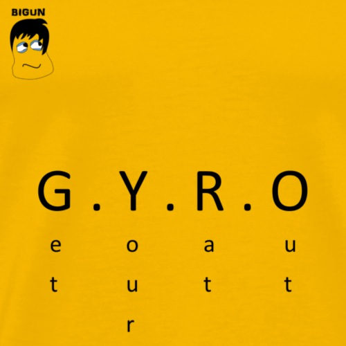 GYRO - Men's Premium T-Shirt