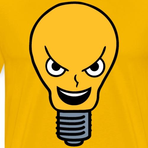 Evil Lightbulb - Men's Premium T-Shirt