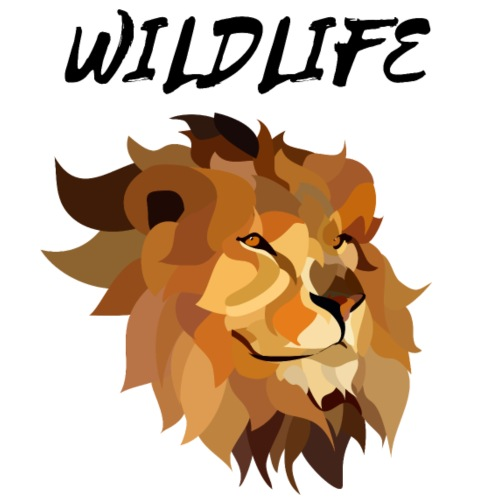 LION - wildlife - Men's Premium T-Shirt