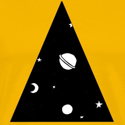 black galaxy - T-shirt Premium Homme