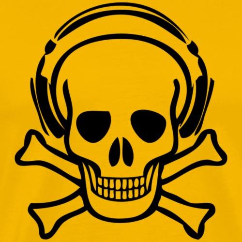 piracy - Herre premium T-shirt