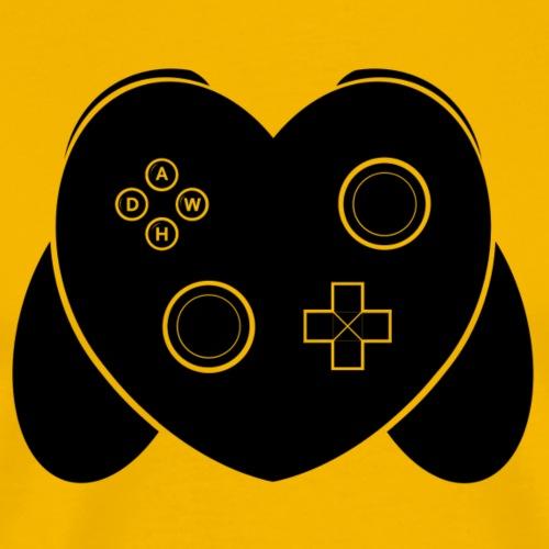 Love Of Gaming - Black - Men's Premium T-Shirt
