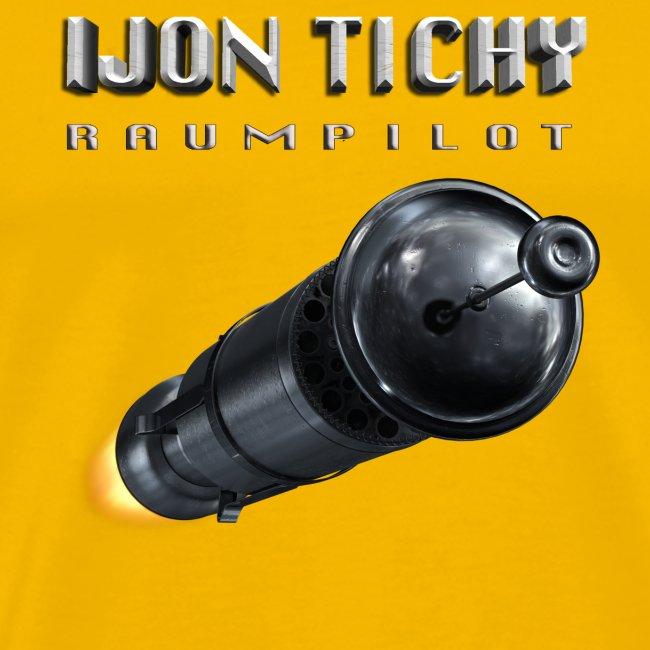 tichy t shirt rakete