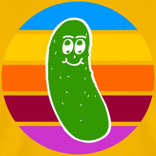 Vintage Colored Pickle #1 - Maglietta Premium da uomo