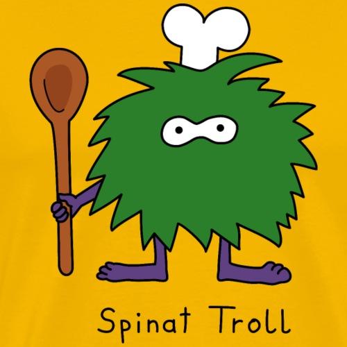 Spinat Troll - Männer Premium T-Shirt