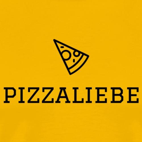 Pizzaliebe - Männer Premium T-Shirt