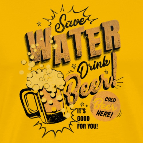Bier die 2te - Männer Premium T-Shirt
