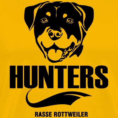 T-Shirt, Hoodie Rottweiler bedrucken§ - Männer Premium T-Shirt
