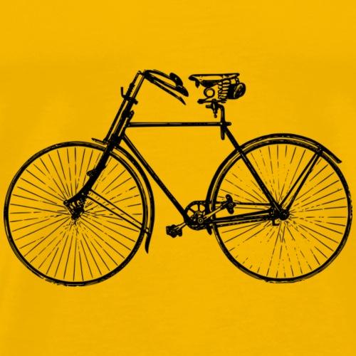 Retro Fahrrad - Männer Premium T-Shirt