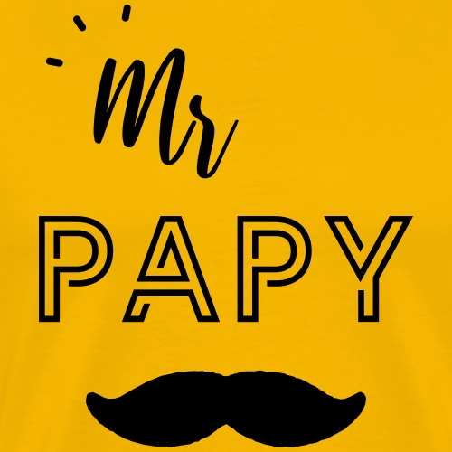 Mr papy - T-shirt Premium Homme