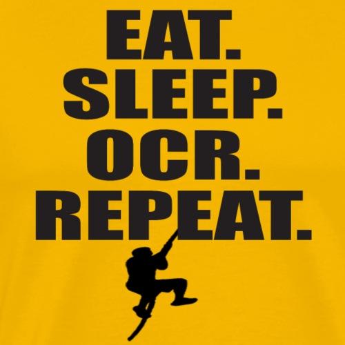 EAT. SLEEP. OCR. REPEAT. - Männer Premium T-Shirt
