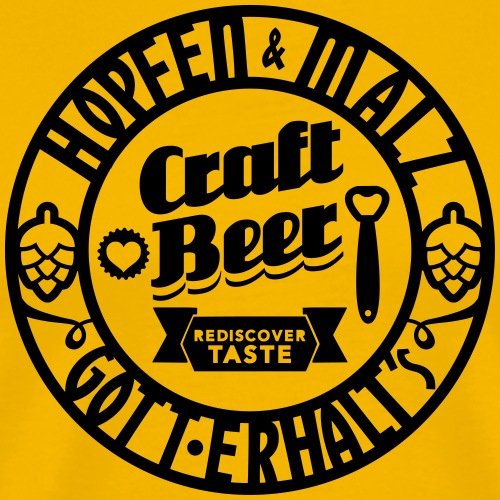 Craft Beer - Männer Premium T-Shirt