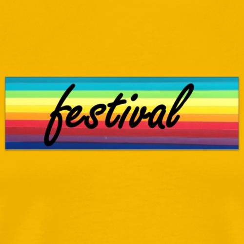 festival colour - Men's Premium T-Shirt