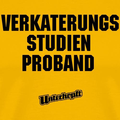 Verkaterungsstudienproband - Männer Premium T-Shirt