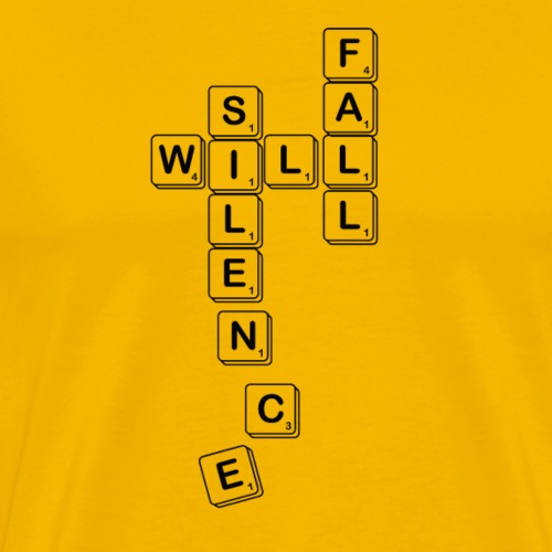 Silence Will Fall - Men's Premium T-Shirt