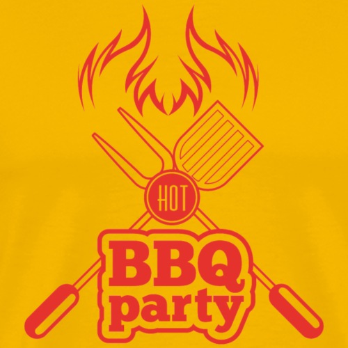 BBQ Party - Männer Premium T-Shirt