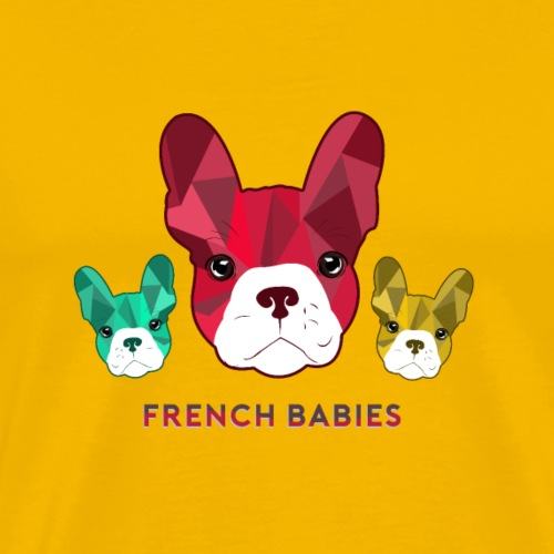 Französische Bulldogge Welpen - Männer Premium T-Shirt