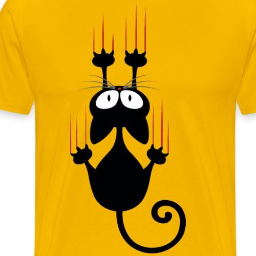 Wenn Katzen krallen - Männer Premium T-Shirt