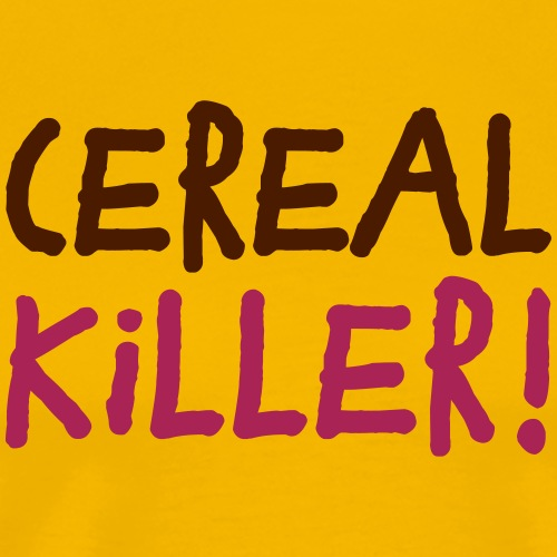 Cereal Killer Müsli Vegetarier Frühstück Gemüse - Men's Premium T-Shirt