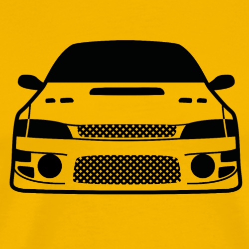 JDM Car eyes GC8 | T-shirts JDM - T-shirt Premium Homme