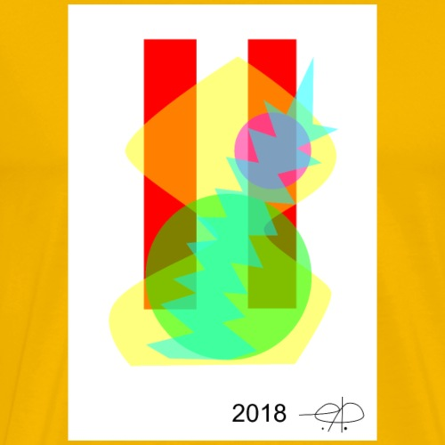 Abstract20180509 - Herre premium T-shirt