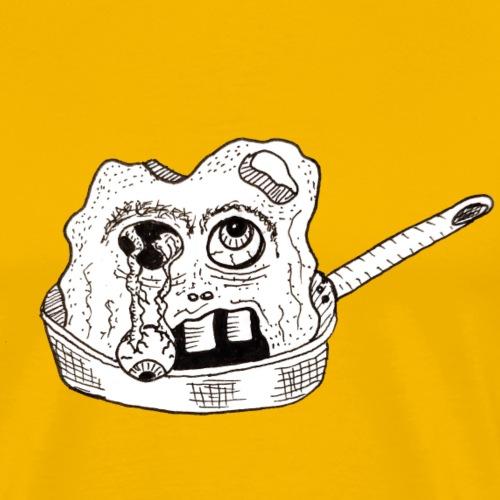 La tête dans la casserole - T-shirt Premium Homme