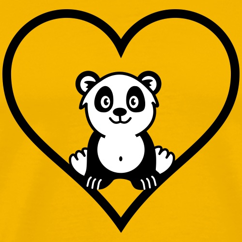 Love Panda - Men's Premium T-Shirt